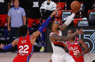 Lillard drops 51 as Trail Blazers top 76ers; Embiid injured