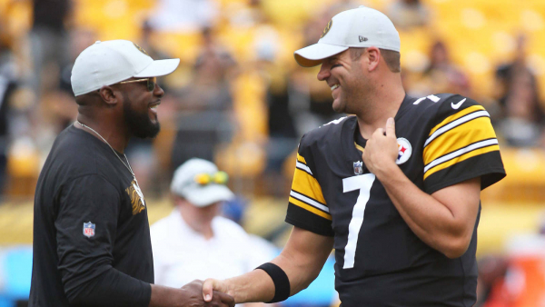 Mike Tomlin praises Big Ben, says QB's arm velocity is 'excellent'