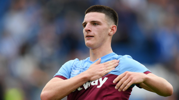 Chelsea-linked Rice yet to attract bid as Moyes airs West Ham transfer hope