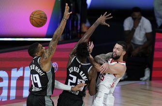 Rivers has career-high 41 as Rockets down Kings 129-112