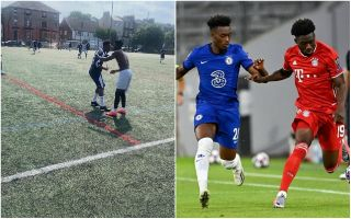 (Photo) – Chelsea's Callum Hudson-Odoi supports meaningful causes by playing Sunday League morning after Blues defeat