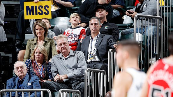 Writer recants report that Larry Bird resigned as Pacers president because team didn't spend enough