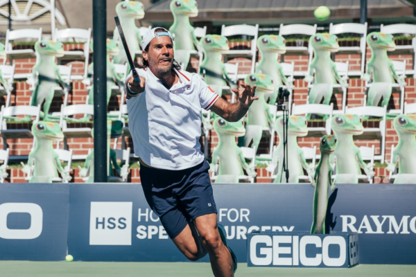 Tommy Haas Continues Winning Ways As Champions Series Tennis Resumes Play
