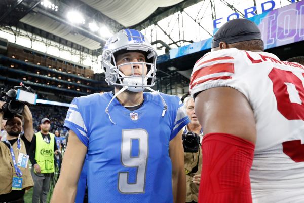 Detroit Lions QB Matthew Stafford had false-positive result on COVID-19 test, team says