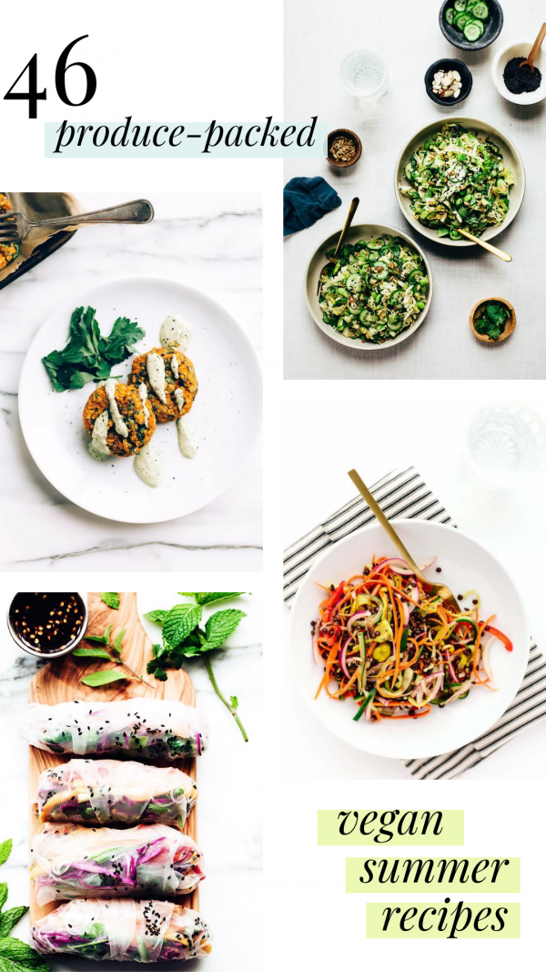 46 Produce-Packed Vegan Summer Recipes