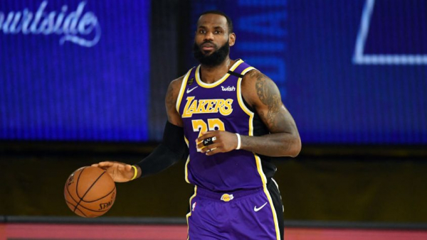 LeBron James admits he's still adjusting to playing without fans
