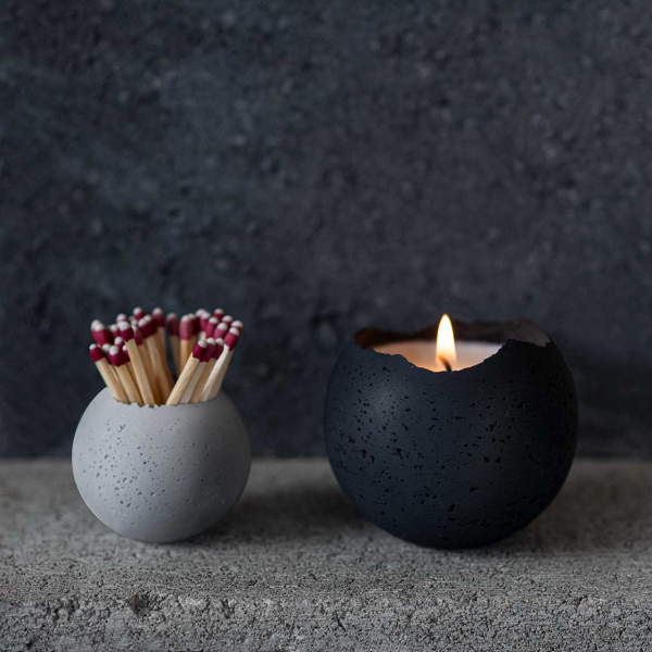 KONZUK Launches Orbis Household Collection of Vessels + Candles