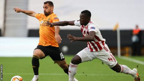 Jonny: Wolves defender to miss Europa League with serious knee injury
