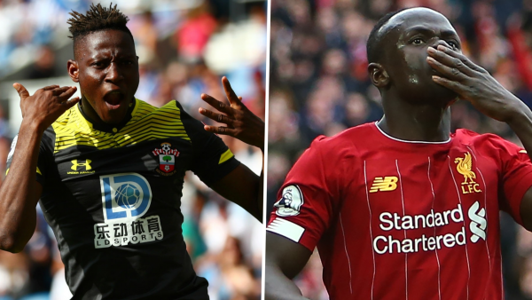 Liverpool's Mane and Southampton's Djenepo nominated for Premier League awards