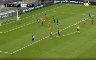 Video: Chelsea target Kai Havertz scores with drilled finish for Leverkusen vs Inter Milan