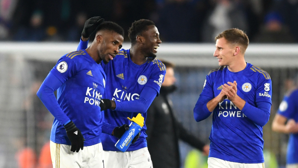 Ndidi rates Iheanacho as Leicester City's best penalty taker ahead of Vardy