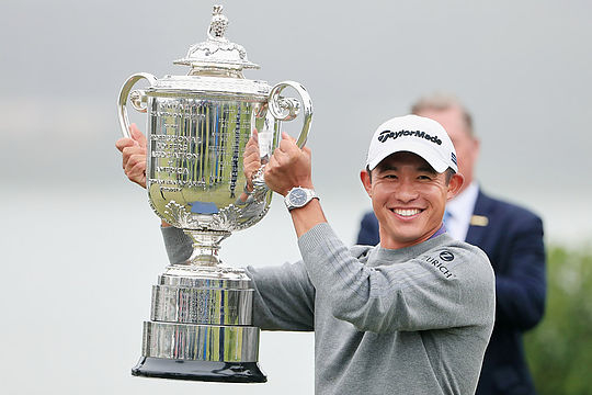 Morikawa seizes late PGA victory, Day tied 4th