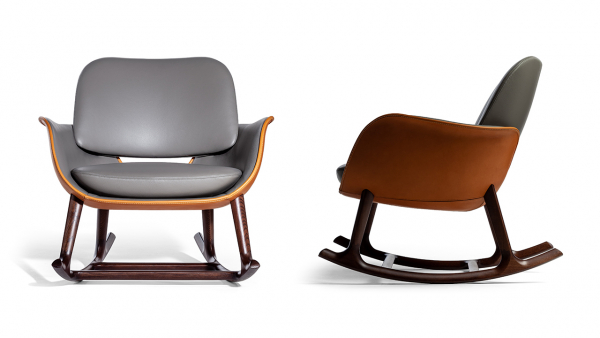 The Light-Hearted, Modern Rocking Chair Named Martha