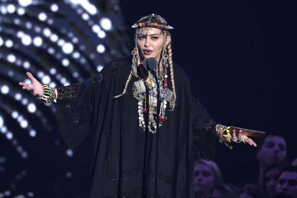 Madonna set to write and direct her own forthcoming biopic