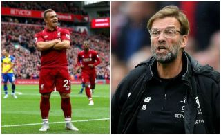 'Has Shaqiri been locked back away?' – These Liverpool fans confused by omission of the Swiss v Arsenal