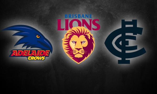 Pre-season 2021: Adelaide, Brisbane & Carlton