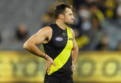 The obvious choice for Richmond's next captain – and no, it isn't Dusty