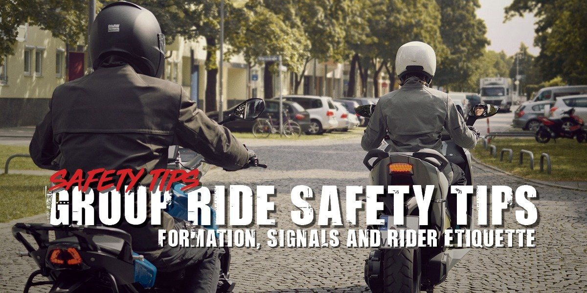 blog large image - Group Ride Safety Tips | Formation, Signals and Rider Etiquette