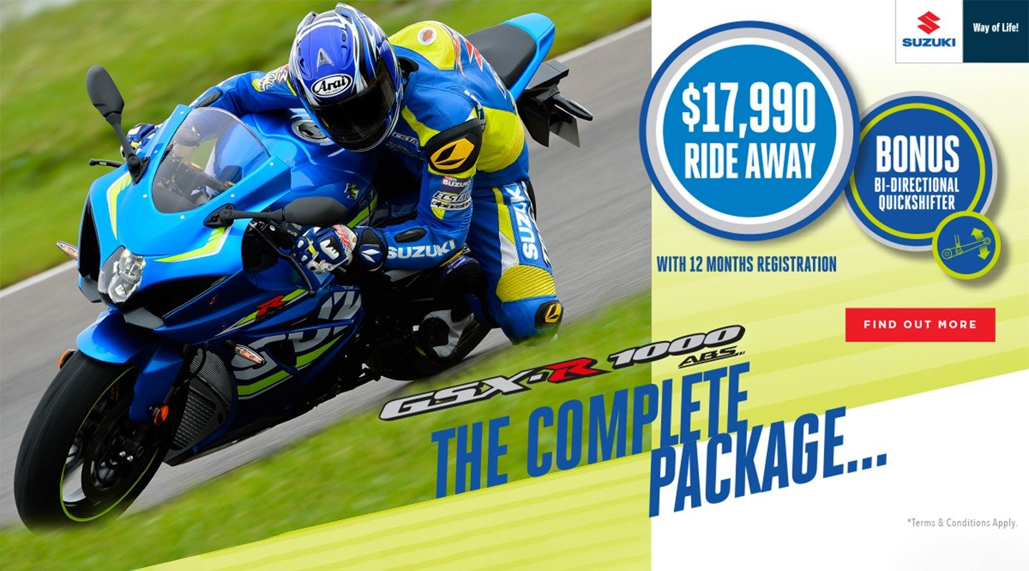 own the track banner