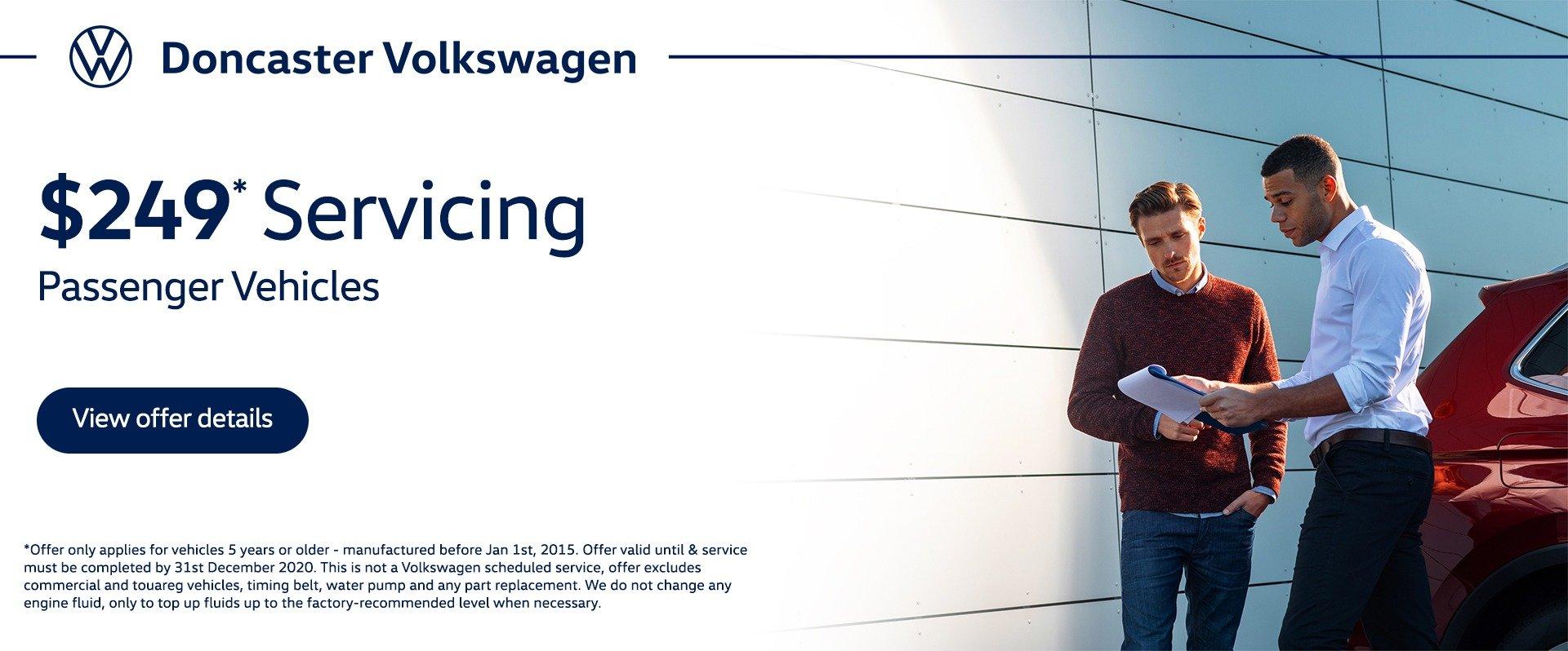 Doncaster Volkswagen Service Special
