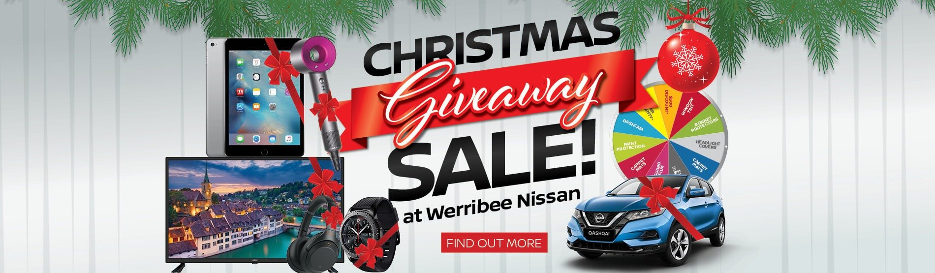 Werribee Nissan - Christmas Giveaway Sale!