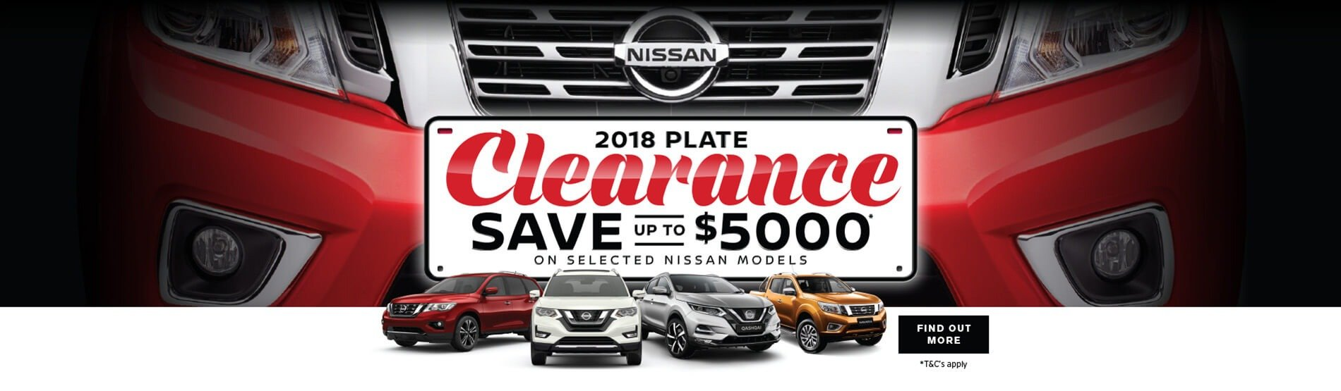 Rockdale Nissan - 2018 Plate Clearance