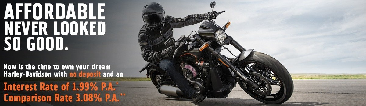 HARLEY-DAVIDSON® LOW RATE FINANCE OFFER Large Image