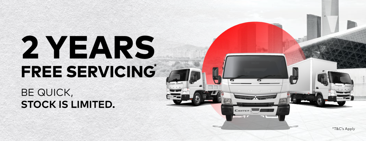 2 Years Free Servicing Offer Fuso
