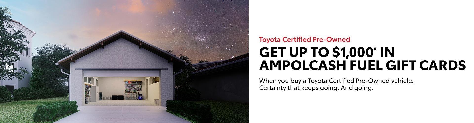 Benalla Toyota - Ampol Fuel Gift Card
