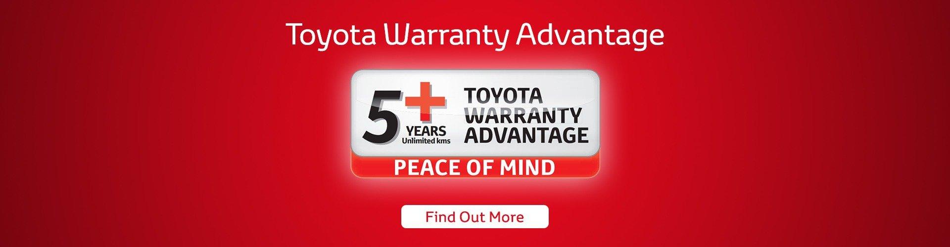Toyota Warranty Advantage