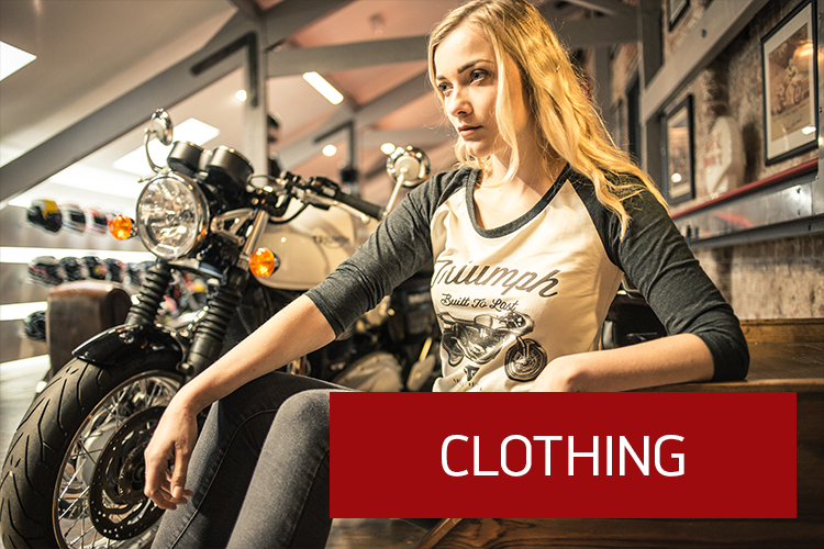 For all your genuine Triumph Parts, contact the team at TeamMoto Virginia Triumph.