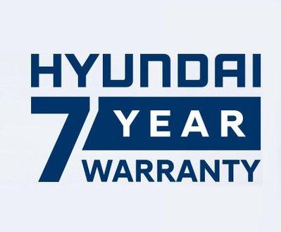 Hyundai seven year warranty logo image