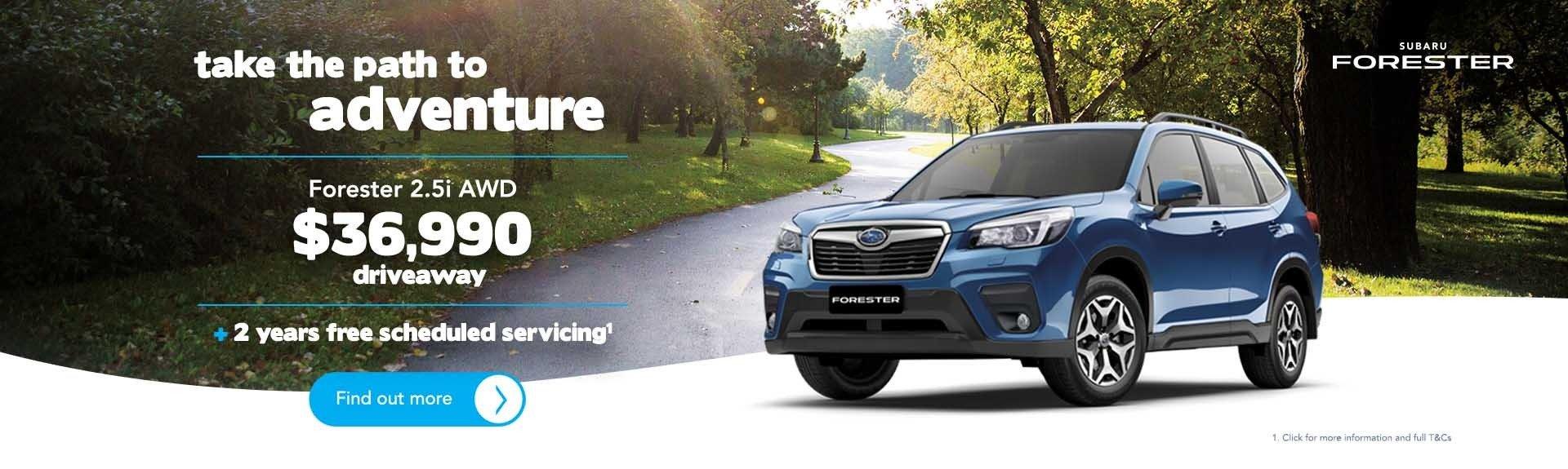 Subaru Service Artarmon - Forester Offer