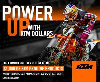 KTM Power Up deals image