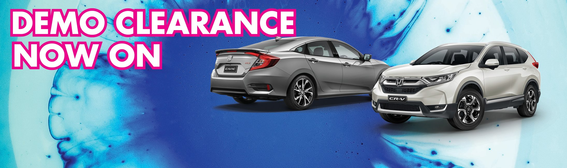 Burswood Honda Demo Clearance