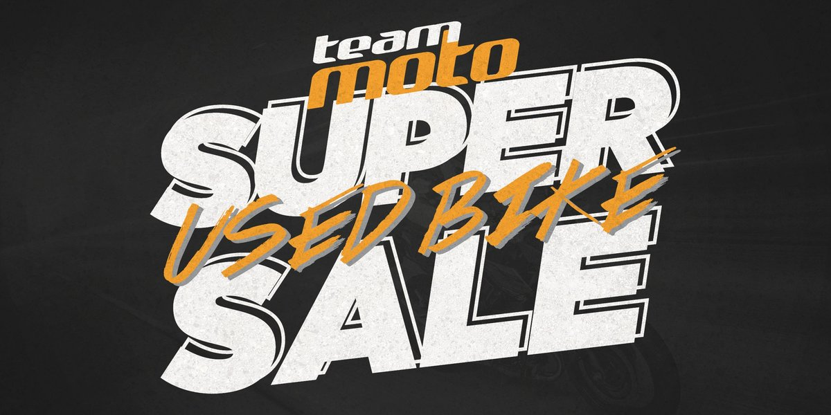 blog large image - The TeamMoto Super Used Bike Sale is on now!