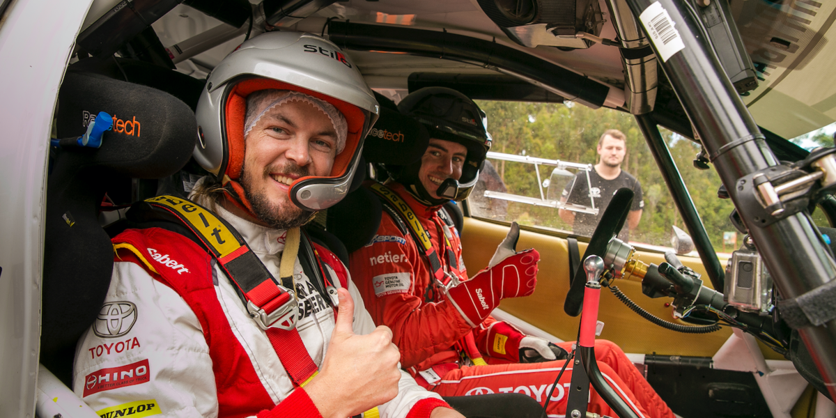 blog large image - WIN A RIDE WITH RALLY CAR DRIVER HARRY BATES!