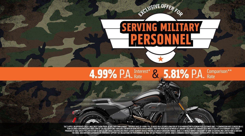 Military Finance Offer