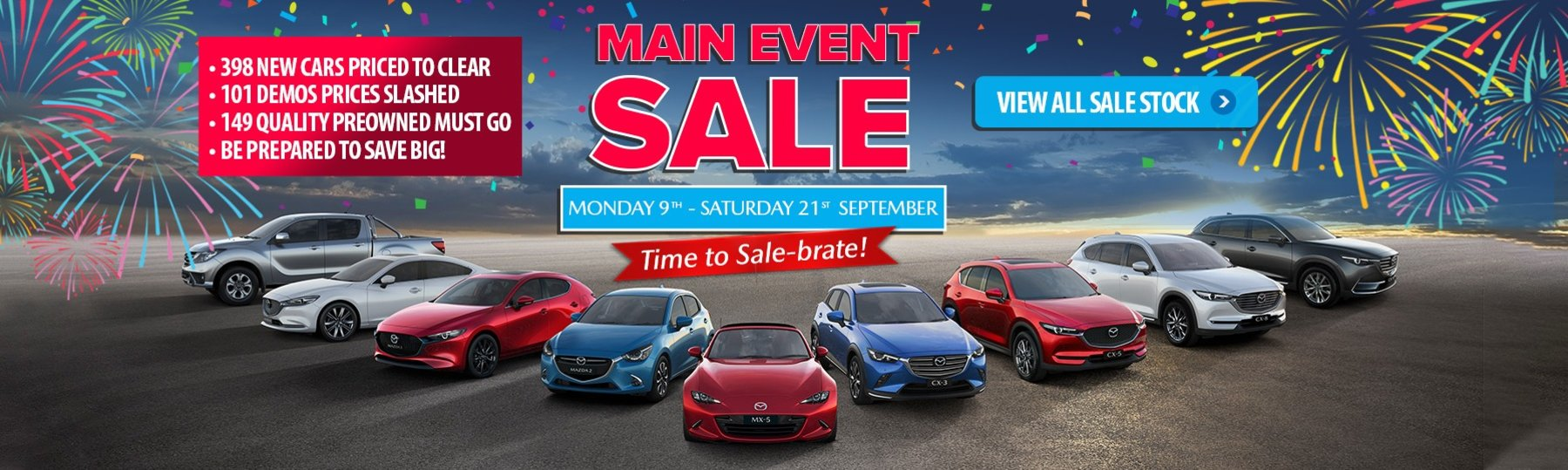 Penfold Mazda Main Event Sale