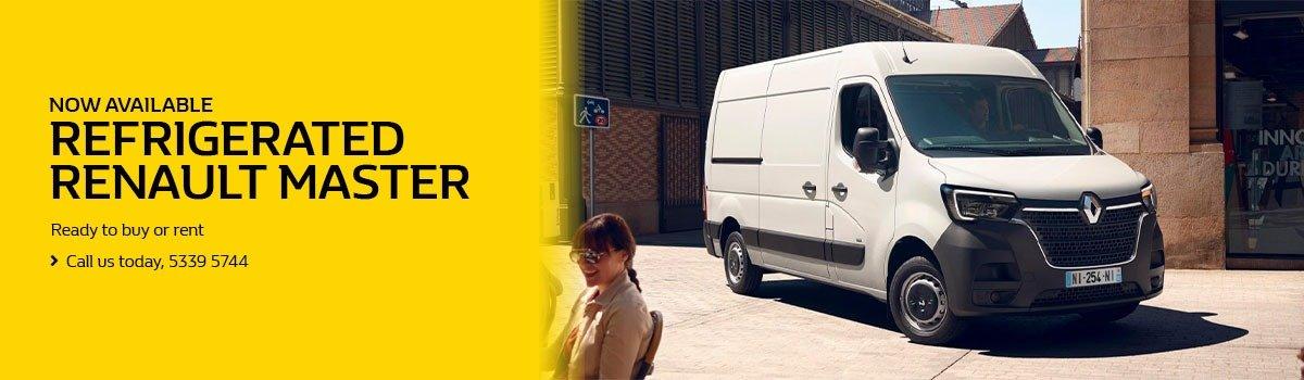 Refrigerated Renault Master Large Image