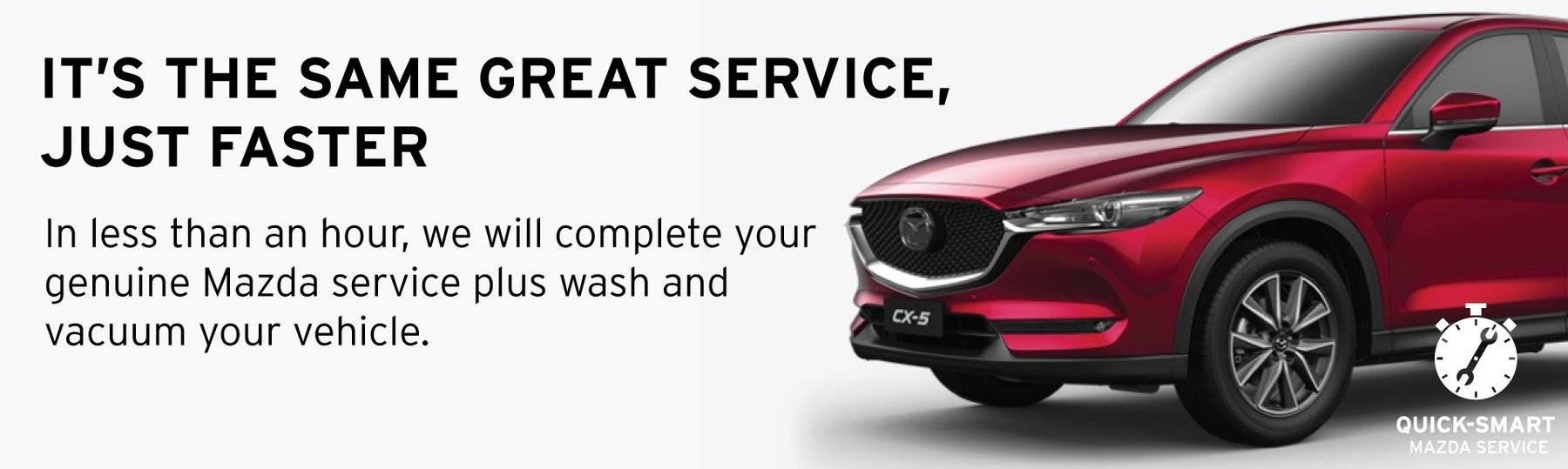 Quick Smart Mazda Service