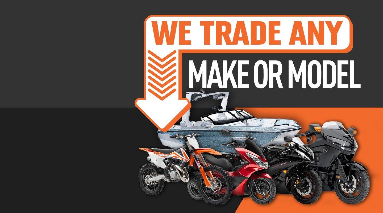 We Trade Any Make Or Model