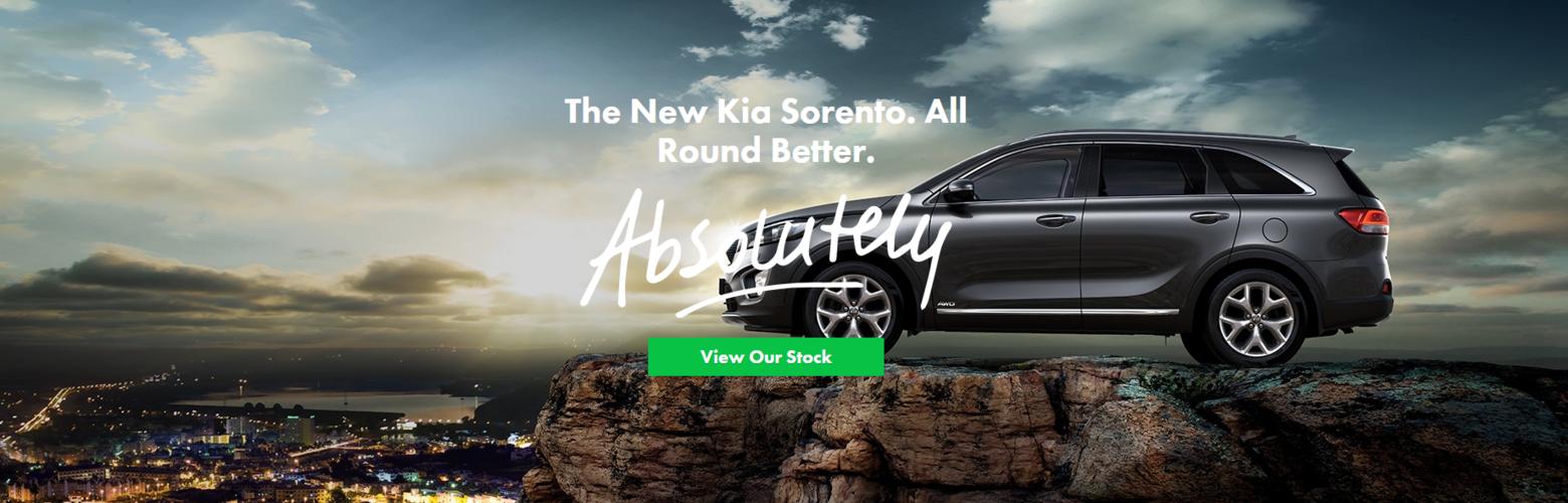 Kia Sorrento All Round Better