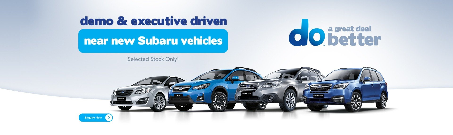 Near New Subaru Offer