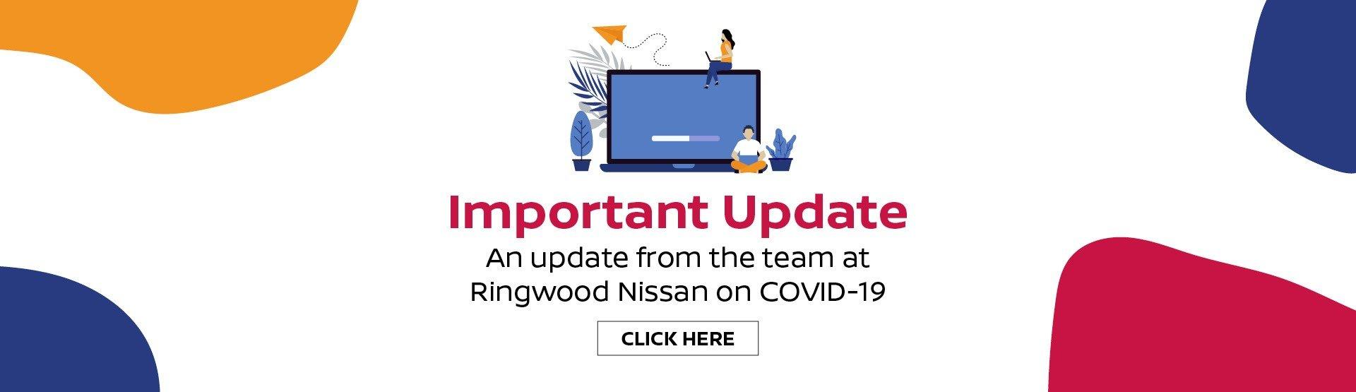 Ringwood Nissan COVID-19 Update