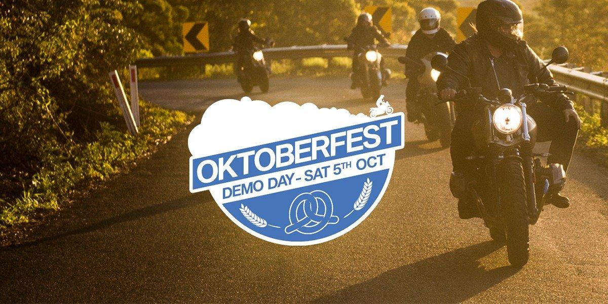 blog large image - BMW Motorrad Oktoberfest Demo Day
