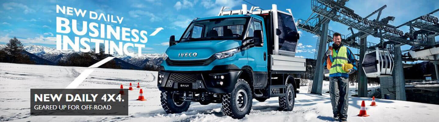 IVECO DAILY 4 x 4