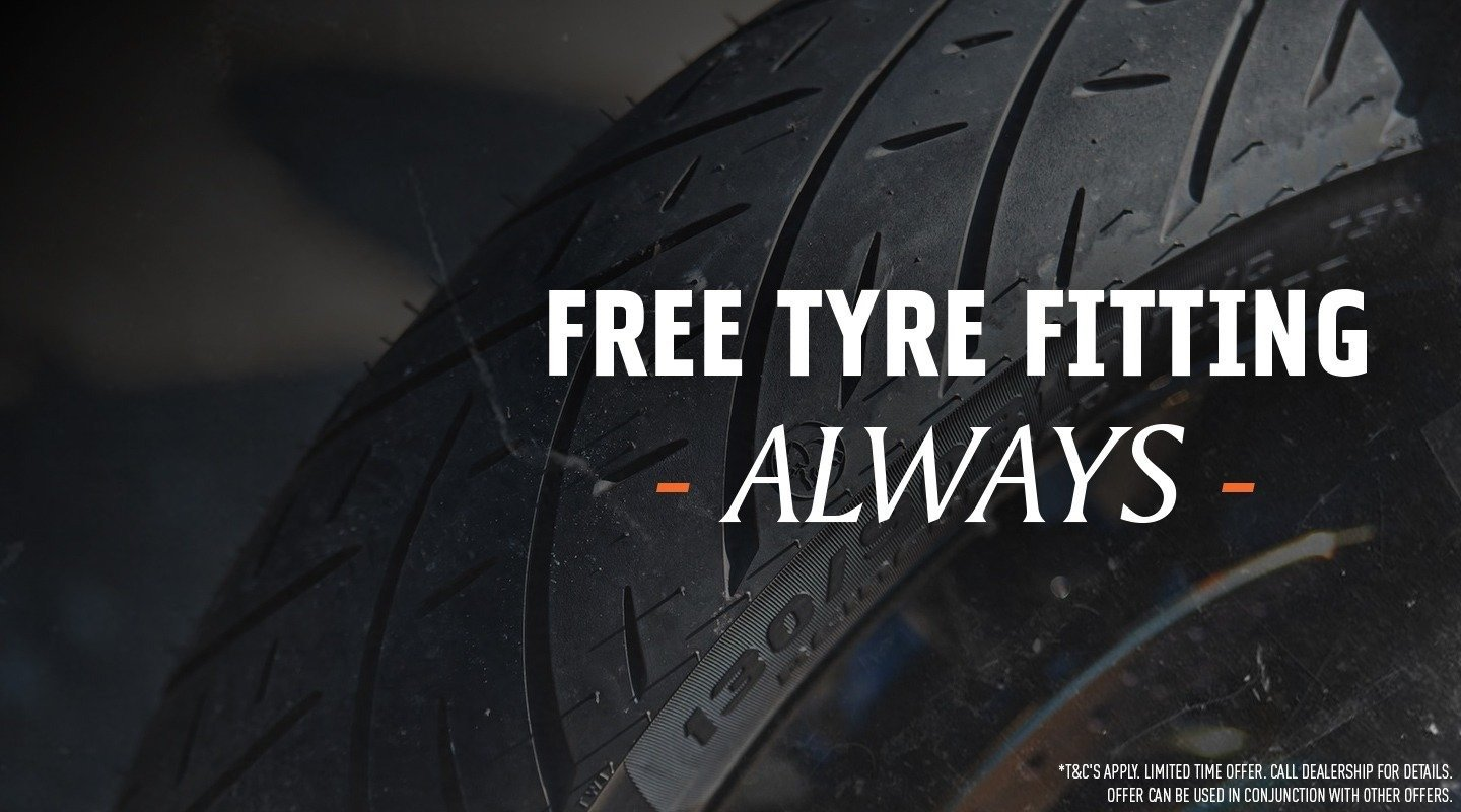Free Tyre Fitment
