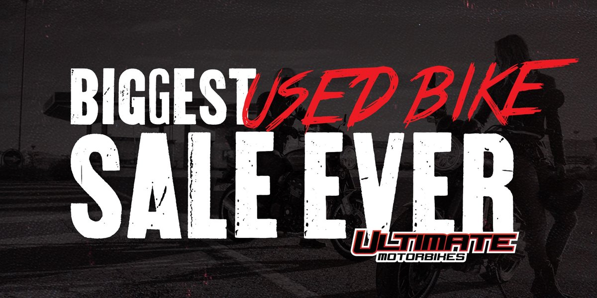blog large image - Our Biggest Ever Used Bikes is on Sale Now!