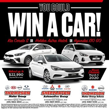 Thompson Motor Group Win a Car!